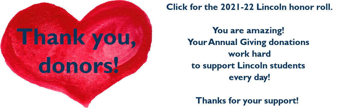 red heart thank you image for honor roll 2021