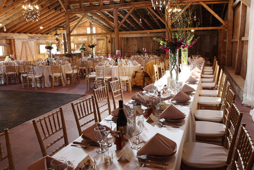 The Barn At Hogs Hollow Farm At L M Townsend Catering In