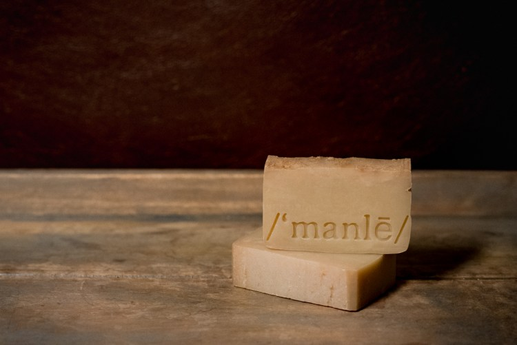 Manlē men's grooming products soap