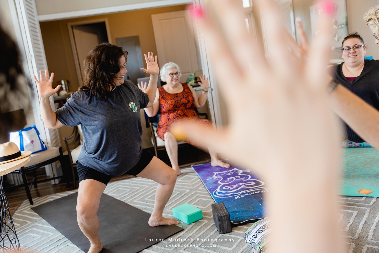coaching women through yoga