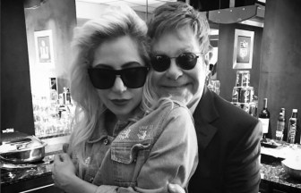 Elton John、Lady Gaga