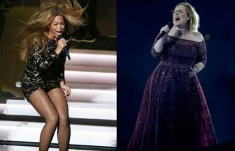 AdeleとBeyonce