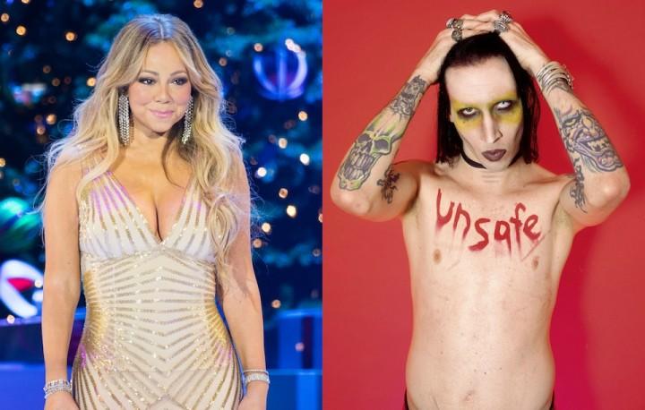 Marilyn Manson、Mariah Carey