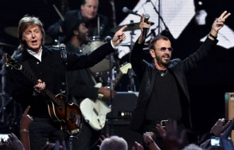 Paul McCartneyとRingo Starr