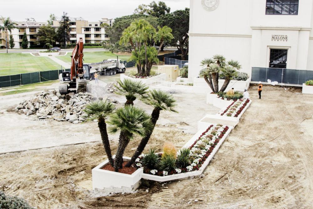 Photo of Regents Terrace construction