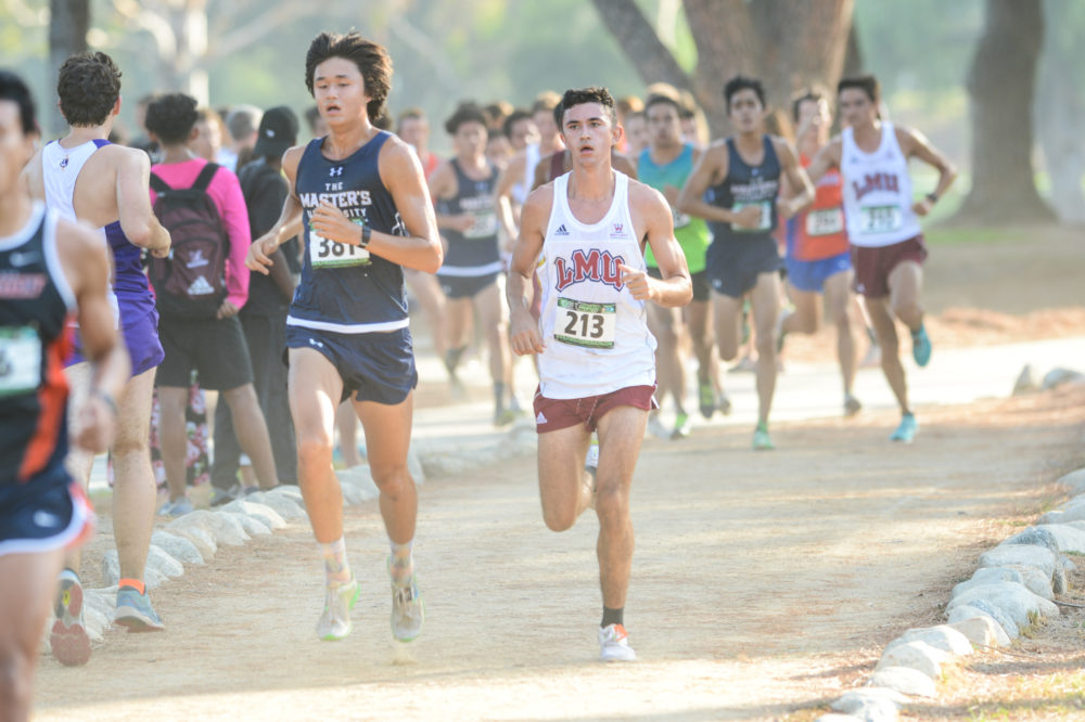 Koby Pederson LMU Cross Country at Mark Covert Classic - Brea, CA - Carbon Canyon Regional Park - Sept. 2, 2017