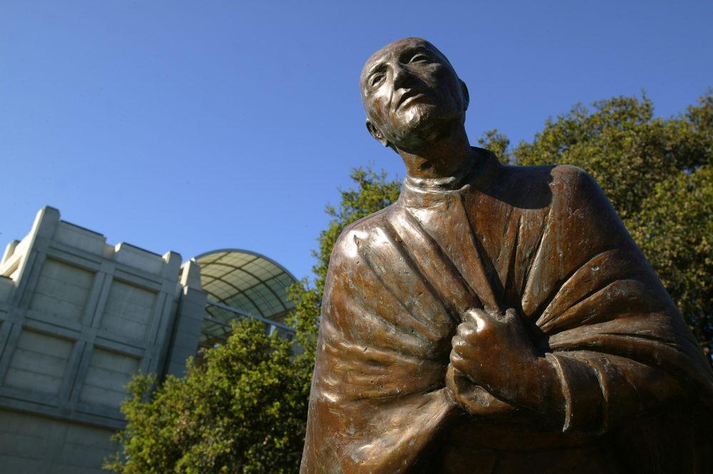 St Ignatius statue