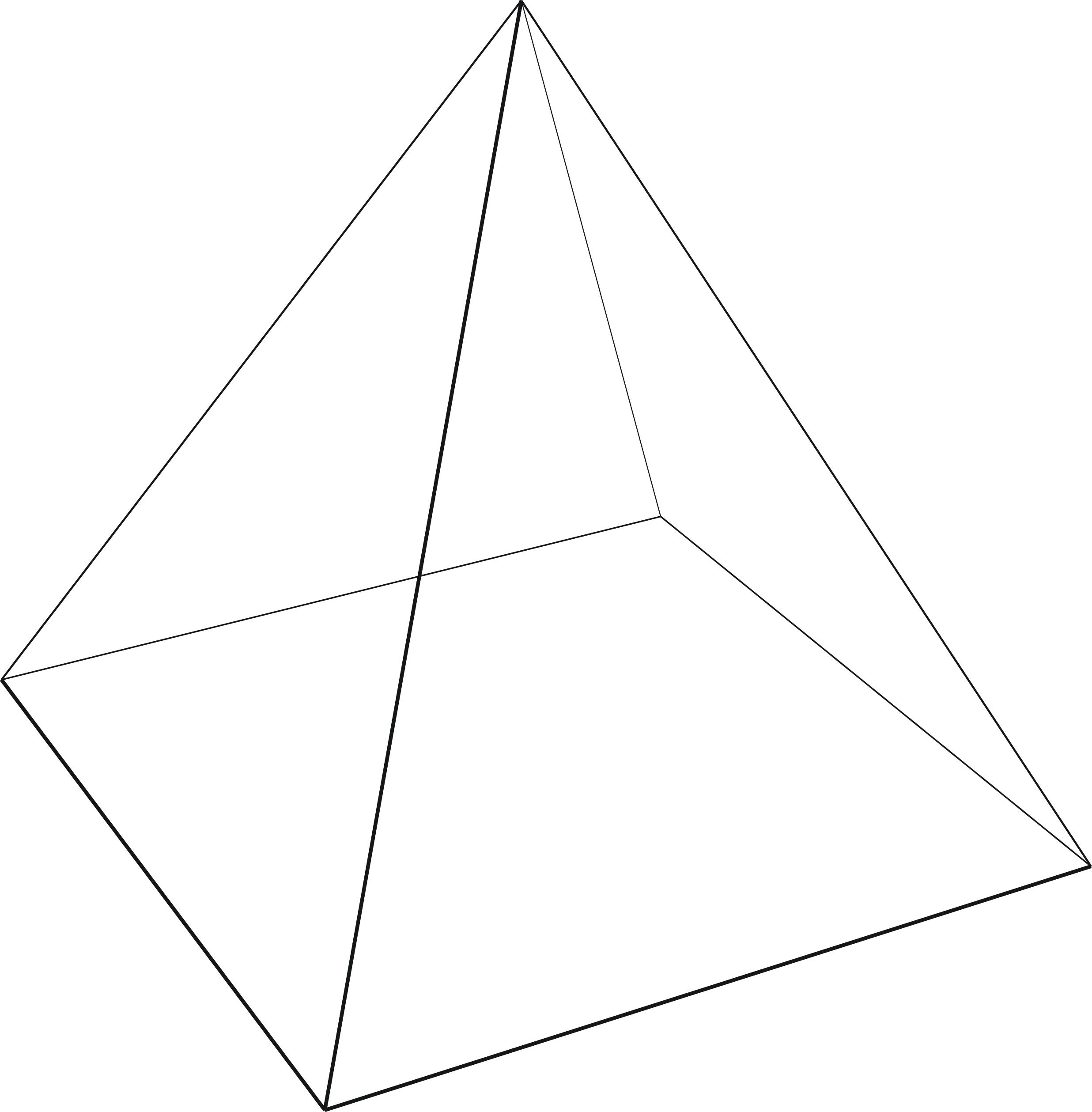 2d Triangles Gt 3d Pyramids Lmworks