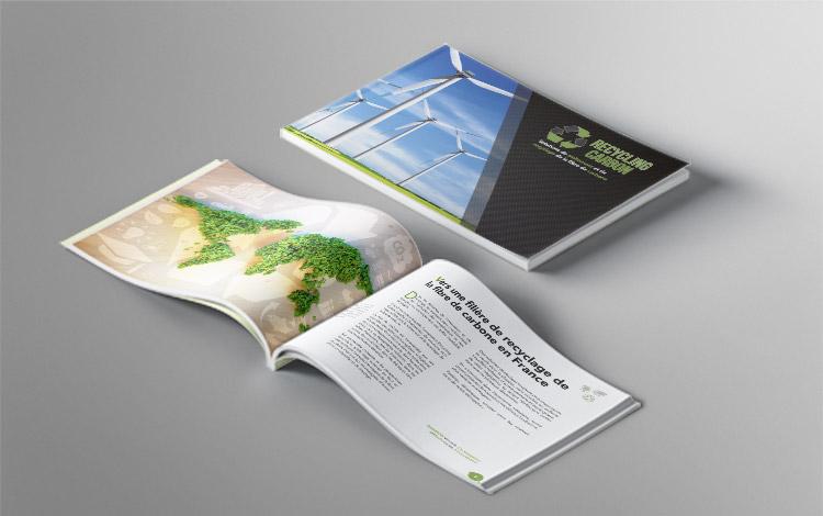 Création brochure - Association eco-responsable en Essonne