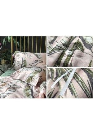 ロマンティック植物ベッドカバーセット