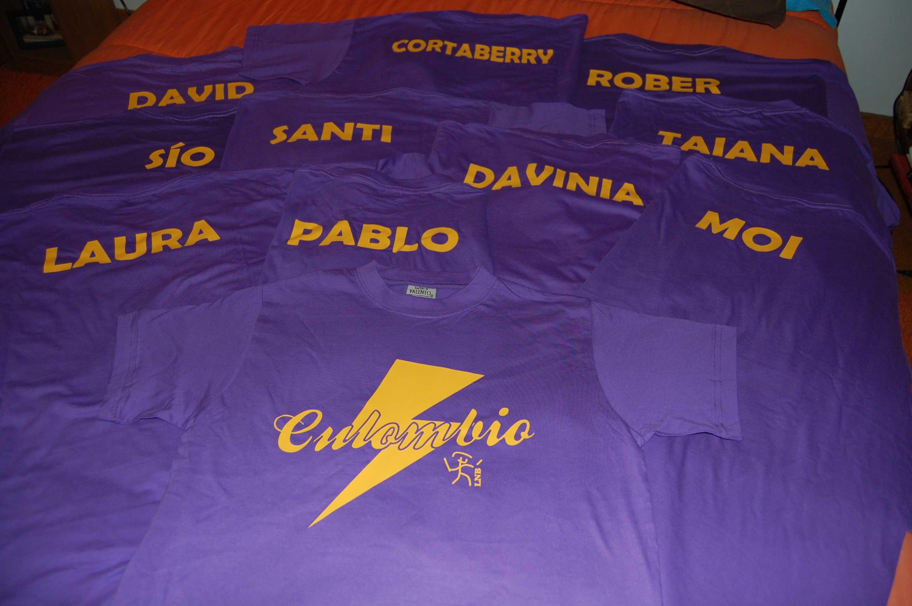 Culombio, equipo gañador