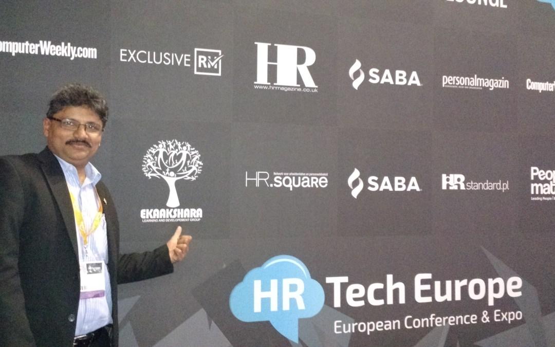 Ekaakshara at HR Tech Europe 2014 in Amsterdam