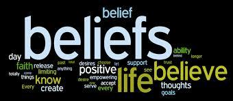 Beliefs can make or break you.