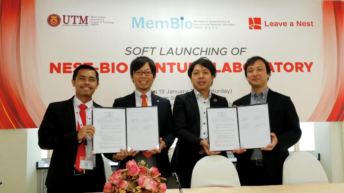 リバネスグループ、初の海外インキュベーション研究所をマレーシア工科大学-MJIITと開所、日本からユーグレナ社・メタジェン社を招へい