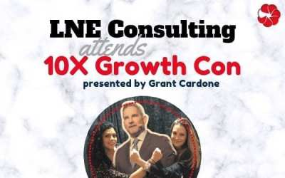 LNE Consulting Attends Grant Cardone's 10X Growth Con