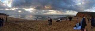 La plage pour nous tout seul, cool!