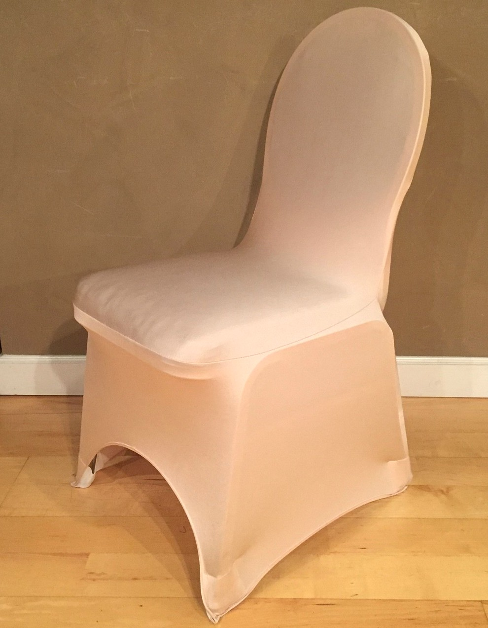 Champagne Chair Covers Champagne Spandex Chair Cover Specialty Linen