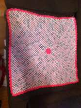 Custom Granny Center Baby Blanket