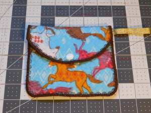 Wild Horses Quilted Bag