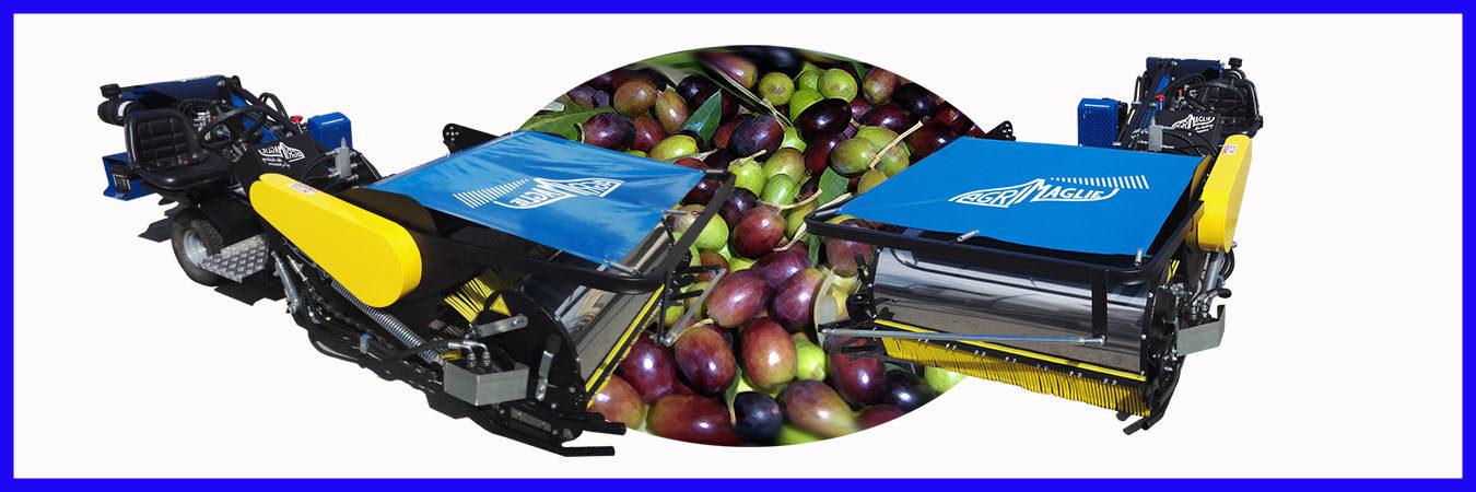 Agrimaglie Montesano Salentino Costruzione e vendita macchine per la raccolta di olive mandorle