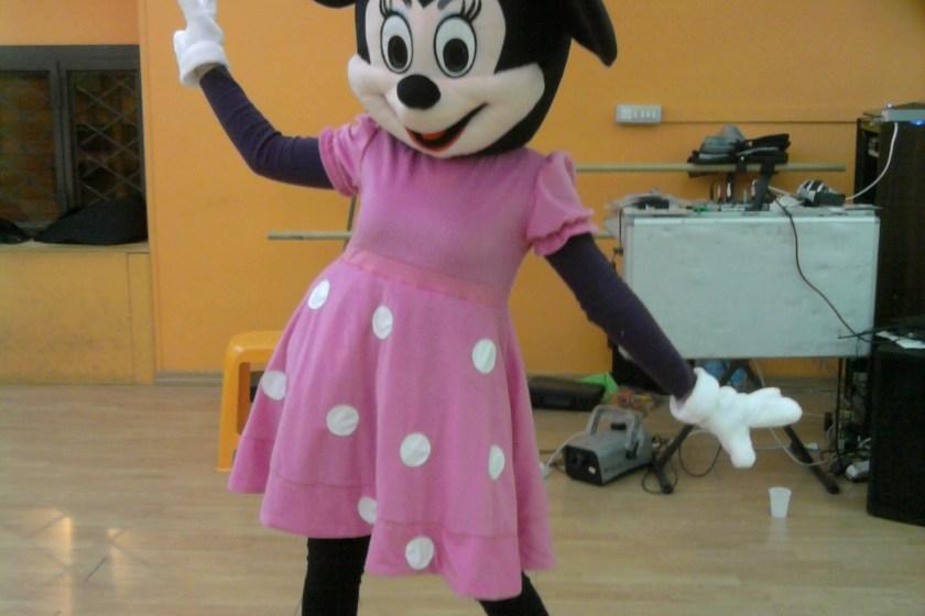 Mascotte Minnie