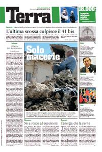 Terra,  il nuovo quotidiano dei Verdi