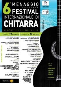 manifesto Festival Chitarra Menaggio 2012