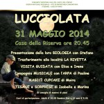 locandina Lucciolata nella Riserva Naturale del Lago del Piano