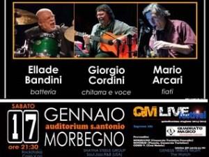 QM Live il concerto di Ellade Bandini, Giorgio Cordini, Mario Arcari 20150117