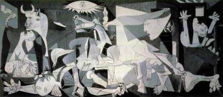 Picasso Guernica 1937 di Pablo Picasso