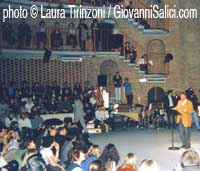 Gunter Grass al Piccolo Teatro di Milano nel 2001