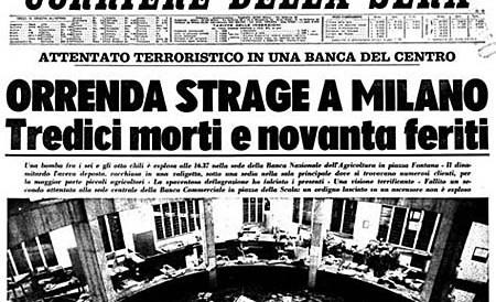 50 anni Piazza Fontana Giuseppe Pinelli