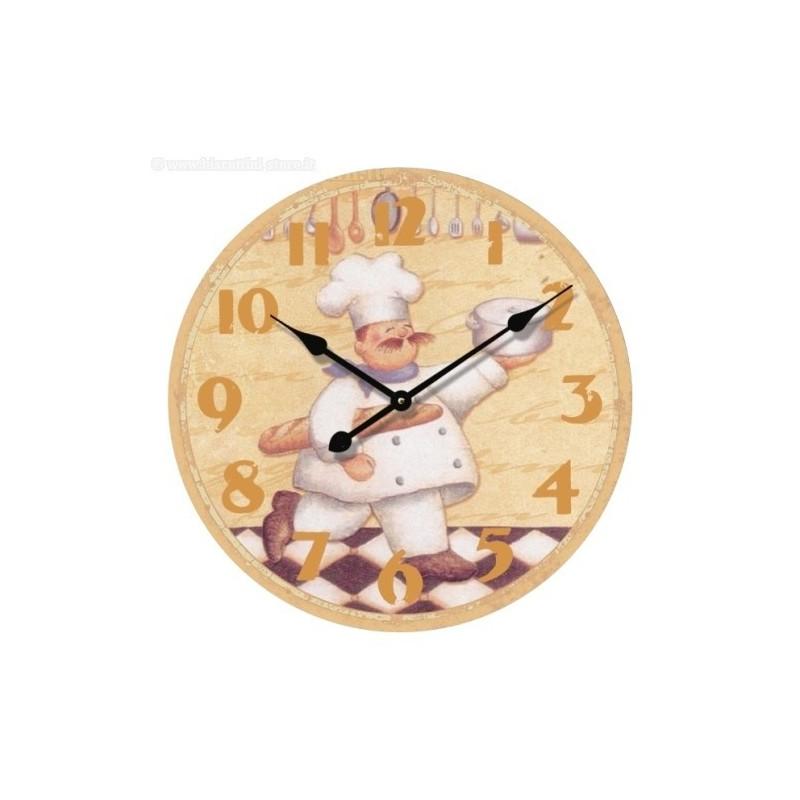 Orologio da parete per cucina e locali  IlBottegonebiz