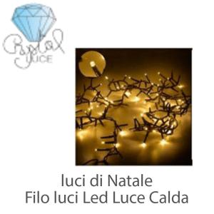 Luci di Natale Filo Luci Led Cristal Luce