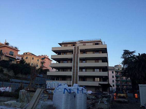 """Genova, in fase di ultimazione il cantiere """"Le Terrazze del Levante"""""""