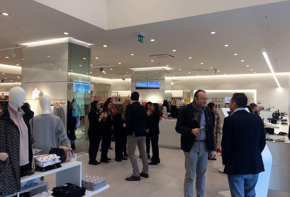 Sabato 18 Febbraio, inaugurato il nuovo punto vendita di Diffusione Tessile, Gen…