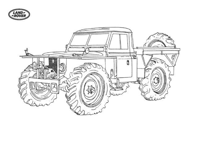 Land Rover Registro Storico