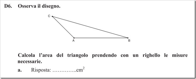 Altezza del triangolo ottusangolo