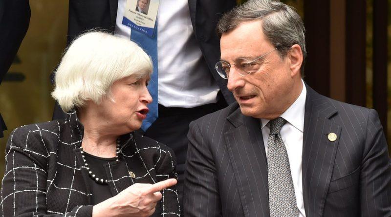 Janet Yellen e Mario Draghi