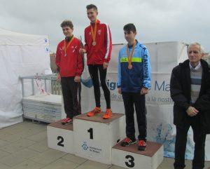 Mario Bassas subcampió de Catalunya 10 K marxa juvenil