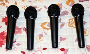 4 Nady SP5 Dynamic Microphones