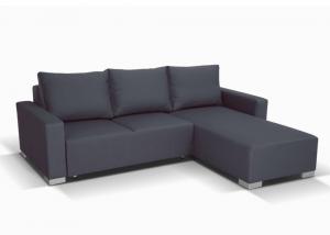 Nelly Corner Sofa in dark grey Bahama 32