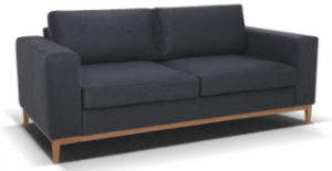 Baku 32 dark grey sofa