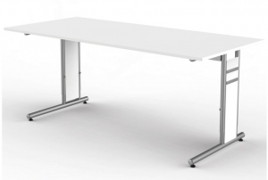 Height adjustable desk 180x80cm