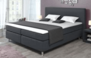 Bonnel Boxspringbed 180 x 200cm GREY - (Bundle Product)