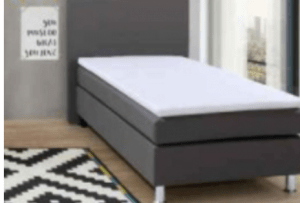Bonnel Single Boxspring Bed # 41 (90x200cm) -  including Mattress - (Bundle Product)