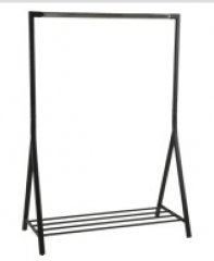 Brent clothes rack dark ACT