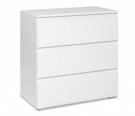 Chest of Drawers White (Dresser)
