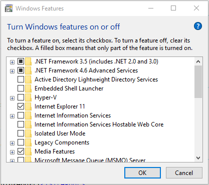 AddFeatures