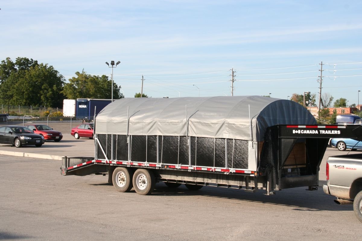 Roll Up Sides Side Kit Trailers